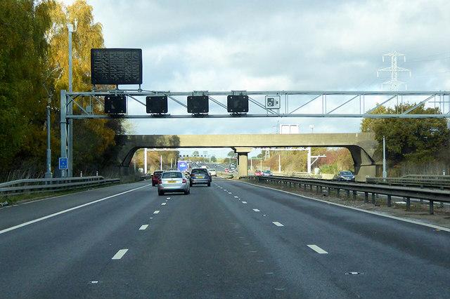 M1 near Flitwick
