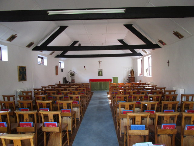 Roman Catholic church of St. Henry Walpole, interior