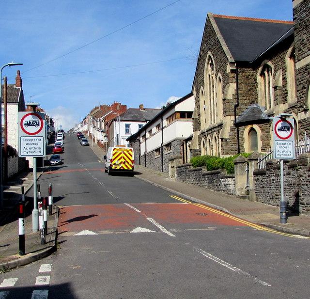 Up Trinity Street, Barry