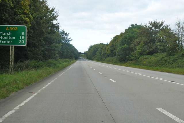A303 heading west