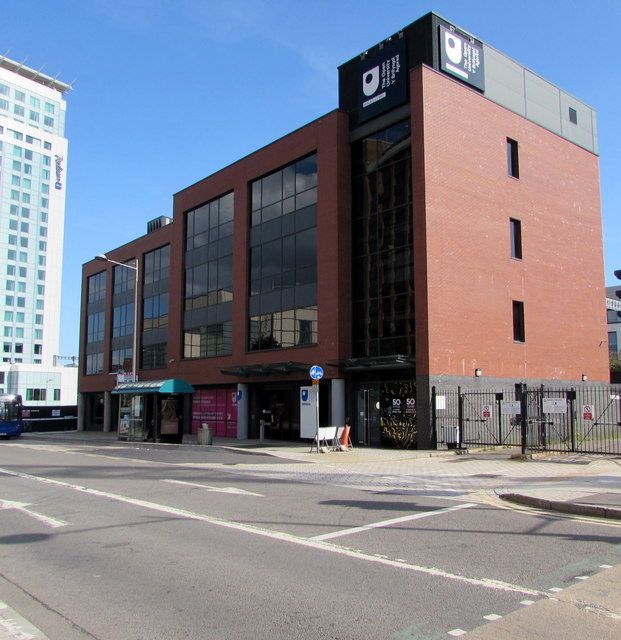 Open University in Wales building, 18 Custom House Street, Cardiff