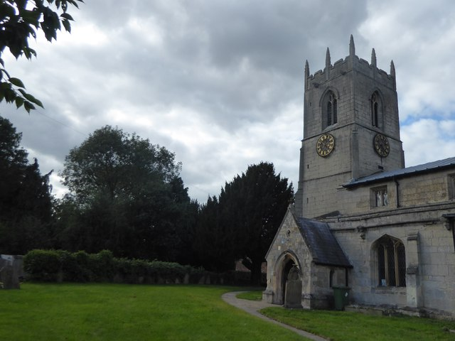 The tower of All Saints Church, Beckingham