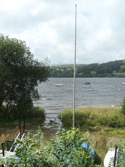 Slipway at Bala Sailing Club