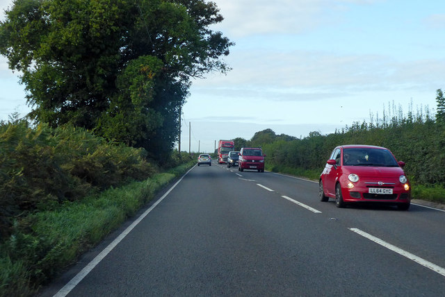 A30 heading west