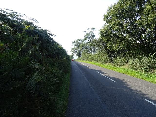 B5026 towards Sugnall