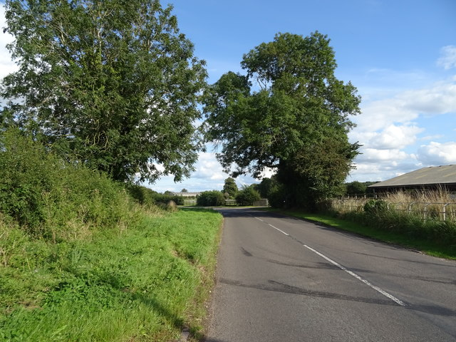 B5026 towards Eccleshall