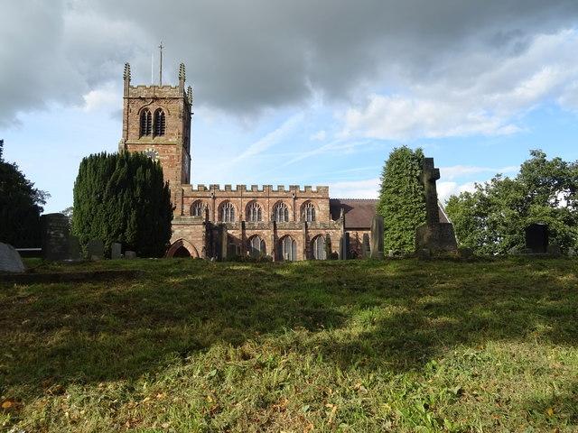 Holy Trinity Church, Eccleshall