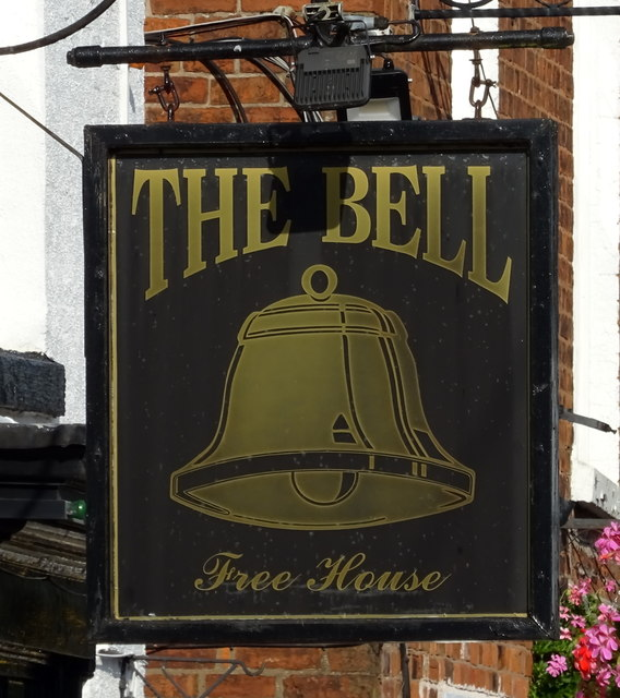 Sign for the Bell, Eccleshall