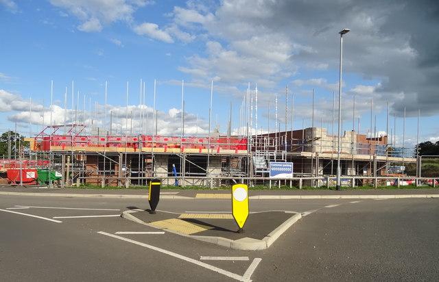 New housing development off Stafford Road, Eccleshall