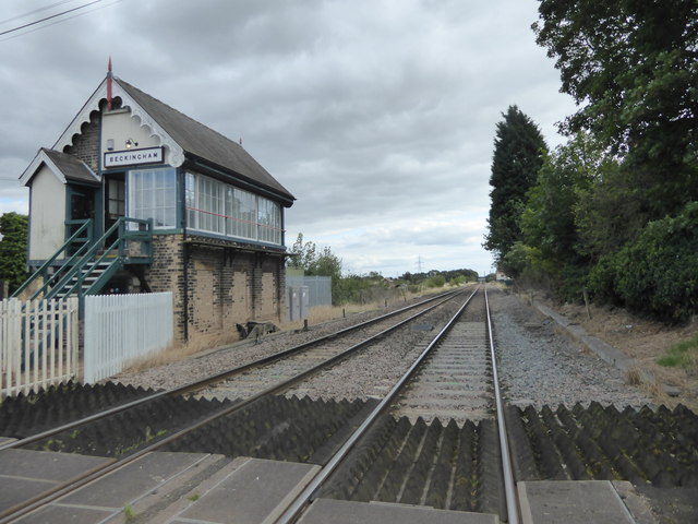 The site of Beckingham station