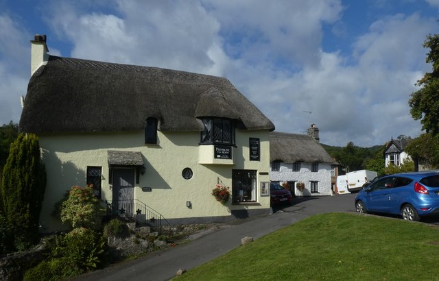 Thatched tearoom, Lustleigh