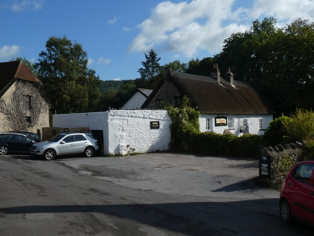 The Cleave Inn at Lustleigh by David Smith