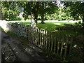 SX7881 : Granite clapper footbridge, Wrayland, Lustleigh by David Smith