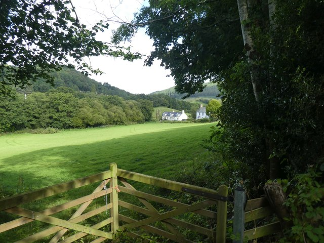 Valley north-east of Lustleigh