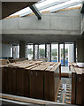 NH6645 : Offices under construction, Inverness Justice Centre by Craig Wallace