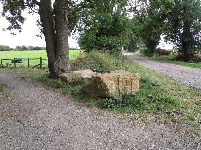 Blocks of Clipsham stone