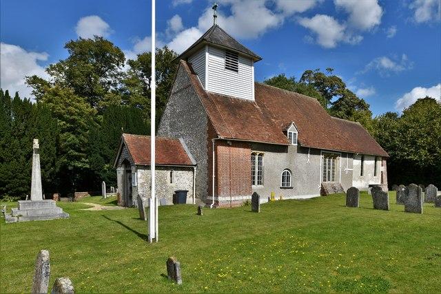 Dummer, All Saints Church: South western aspect