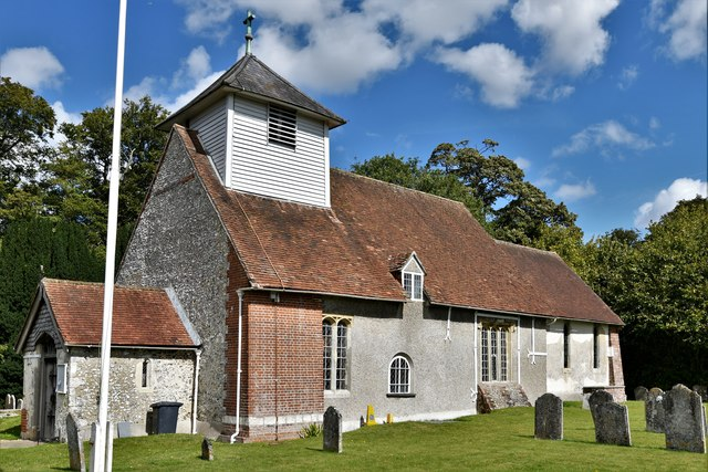 Dummer, All Saints Church: South western aspect
