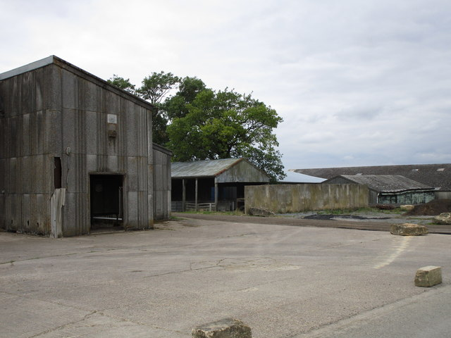 Buildings at Bidwell Farm