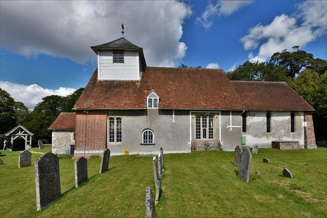 Dummer, All Saints Church: Southern aspect