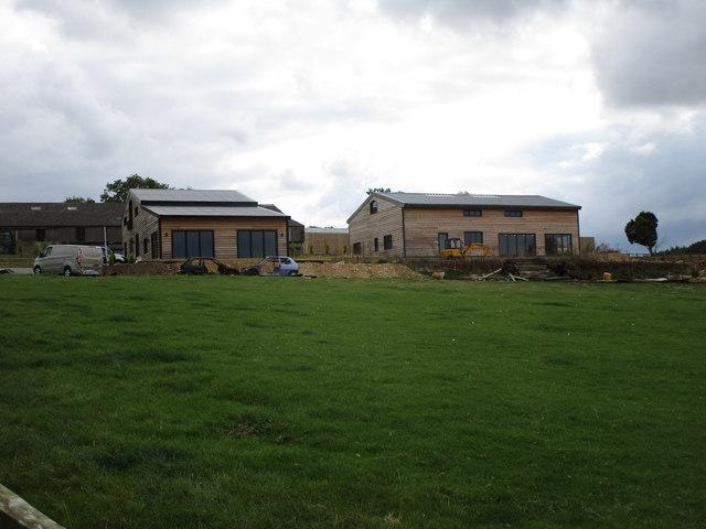 Two new dwellings at Bidwell Farm