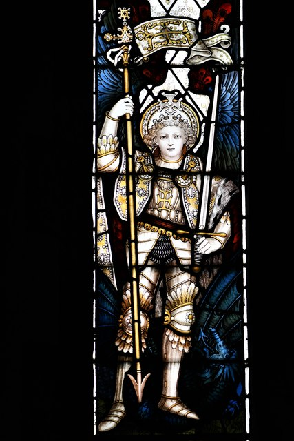 Dummer, All Saints Church: Stained glass window