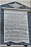 SU5846 : Dummer, All Saints Church: Terry family memorial by Michael Garlick
