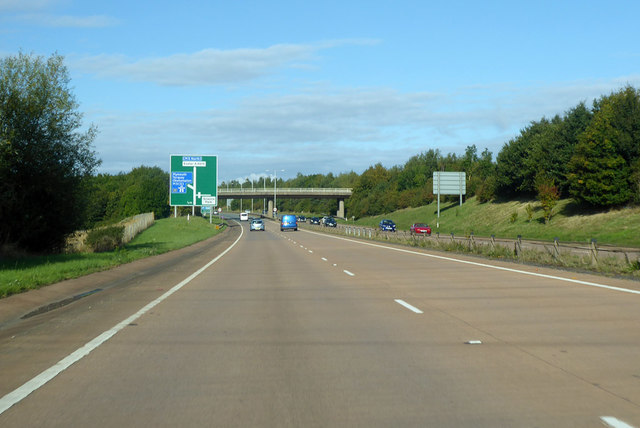 A30 heading west, nearing junction with M5