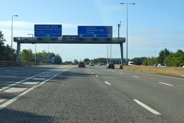 M5 at junction 30
