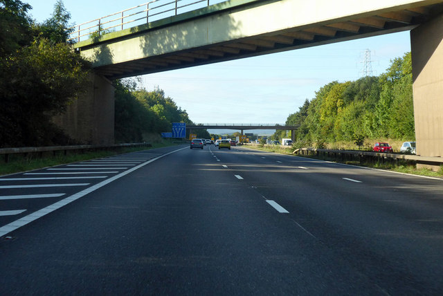 M5 to the west