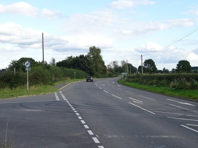A5013, Little Bridgeford