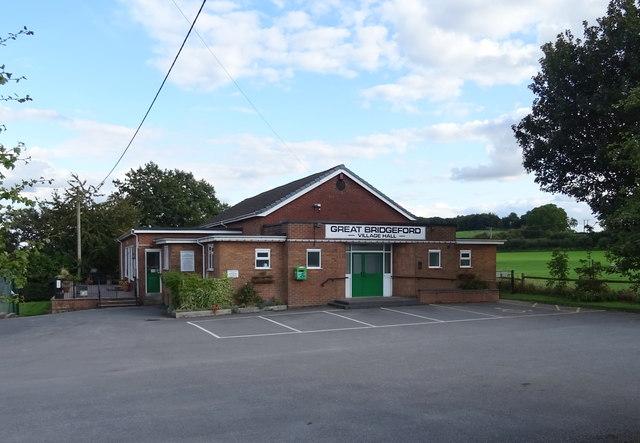 Great Bridgeford Village Hall
