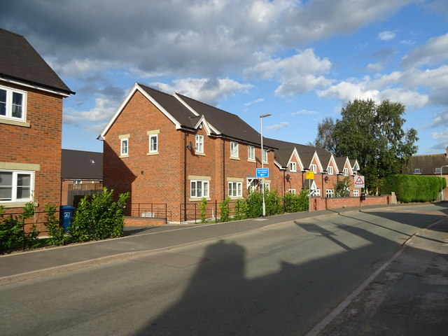 Houses on The Cumbers Seighford