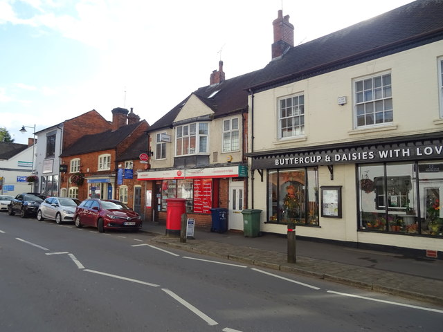 Post Office and convenience store on Stafford Street, Eccleshall