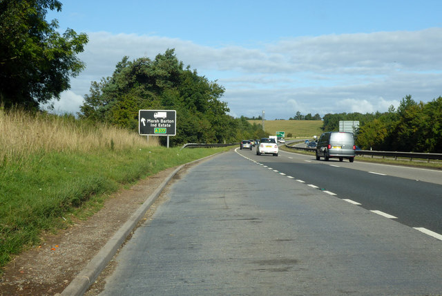 Lay-by on westbound A30