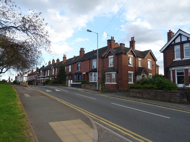 Houses on Doxey Road