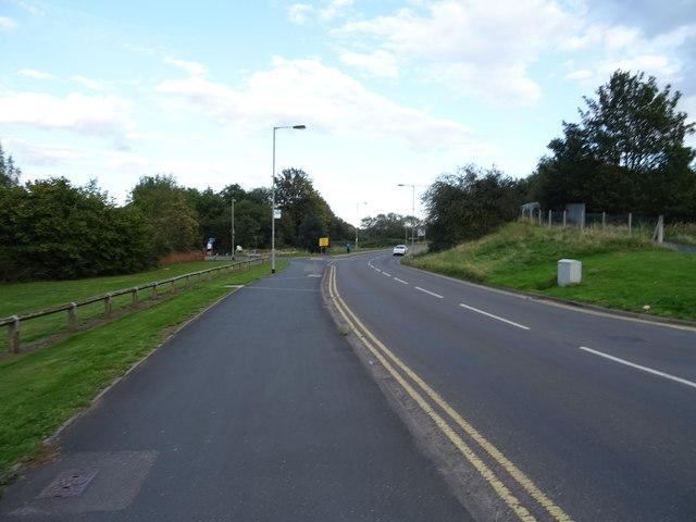 Doxey Road into Stafford