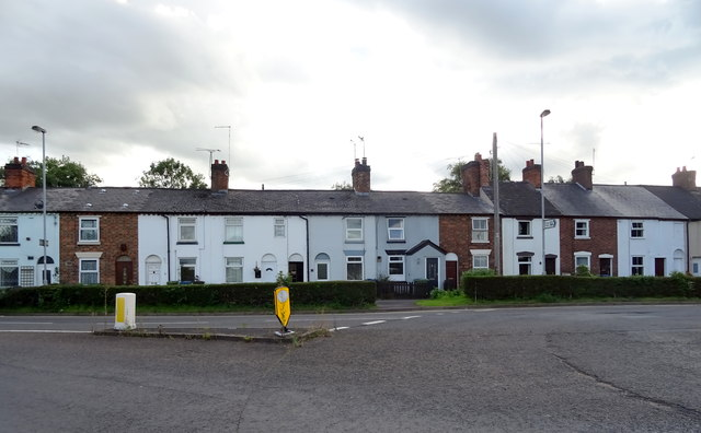 Terraced housing on Doxey Road