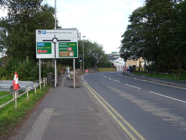 Doxey Road, Stafford