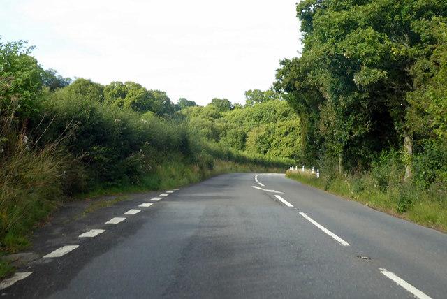 Road to Tedburn St Mary