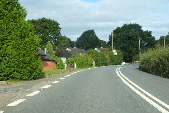 Outskirts of Tedburn St Mary