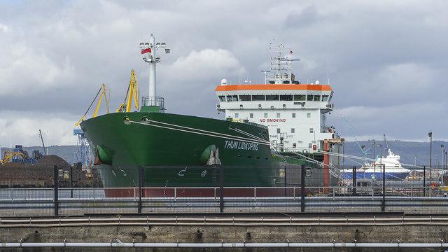 The 'Thun Lidkoping' at Belfast