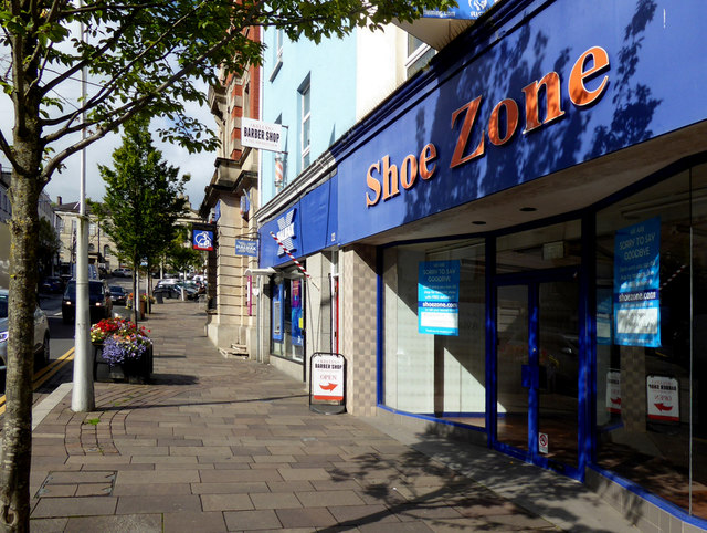 Shoe Zone closed down, Omagh