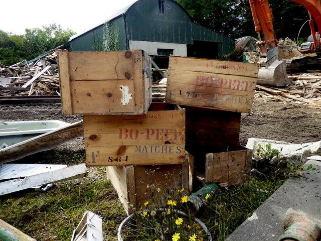 Bo-Peep matches boxes, Gortnacreagh