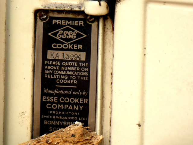 Cooker details