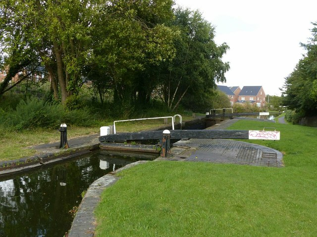Smethwick Middle Lock, Birmingham Canal