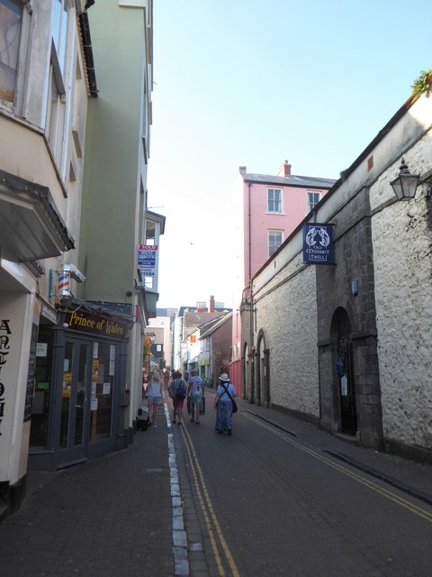 Mid section of Upper Frog Street