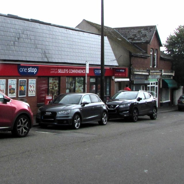Selley's convenience store, Park Crescent, Barry