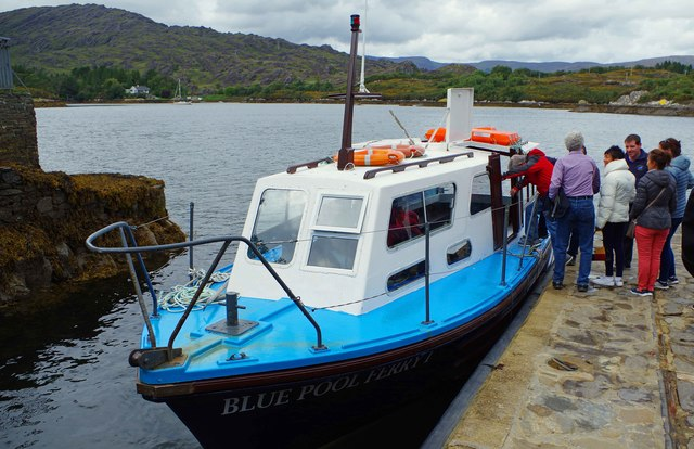 Ilnacullin/Garinish Island, Co. Cork - Blue Pool Ferry 1 at the Quay