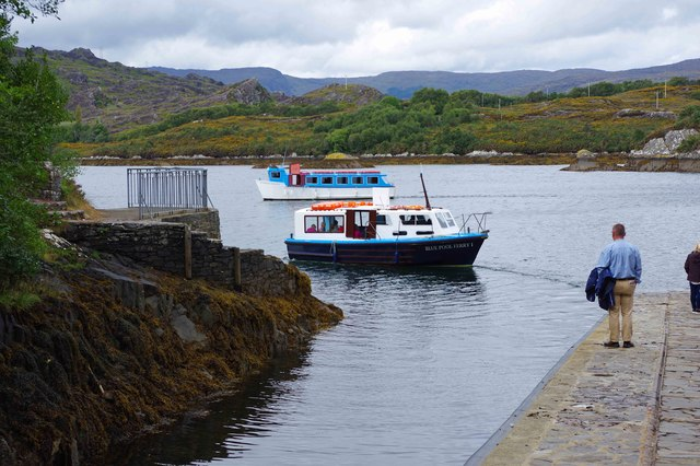 Ilnacullin/Garinish Island, Co. Cork - ferries near the Quay